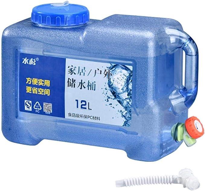 wasserkanister mit hahn tragbarer mit Deckel Zapfen BPA-frei Kunststoff Auto Wasserbeh/älter