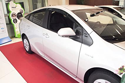 4 Piezas Juego de deflectores de Viento para Toyota Prius 2016+ Autoclover