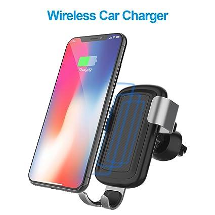 Amazon.com: FUTESJ - Cargador de coche inalámbrico de 10 W ...