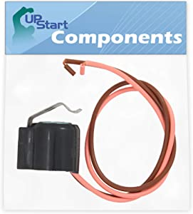 W10225581 Defrost Thermostat Replacement for KitchenAid KSSC48QTS00 Refrigerator - Compatible with W10225581 Defrost Bimetal Thermostat - UpStart Components Brand