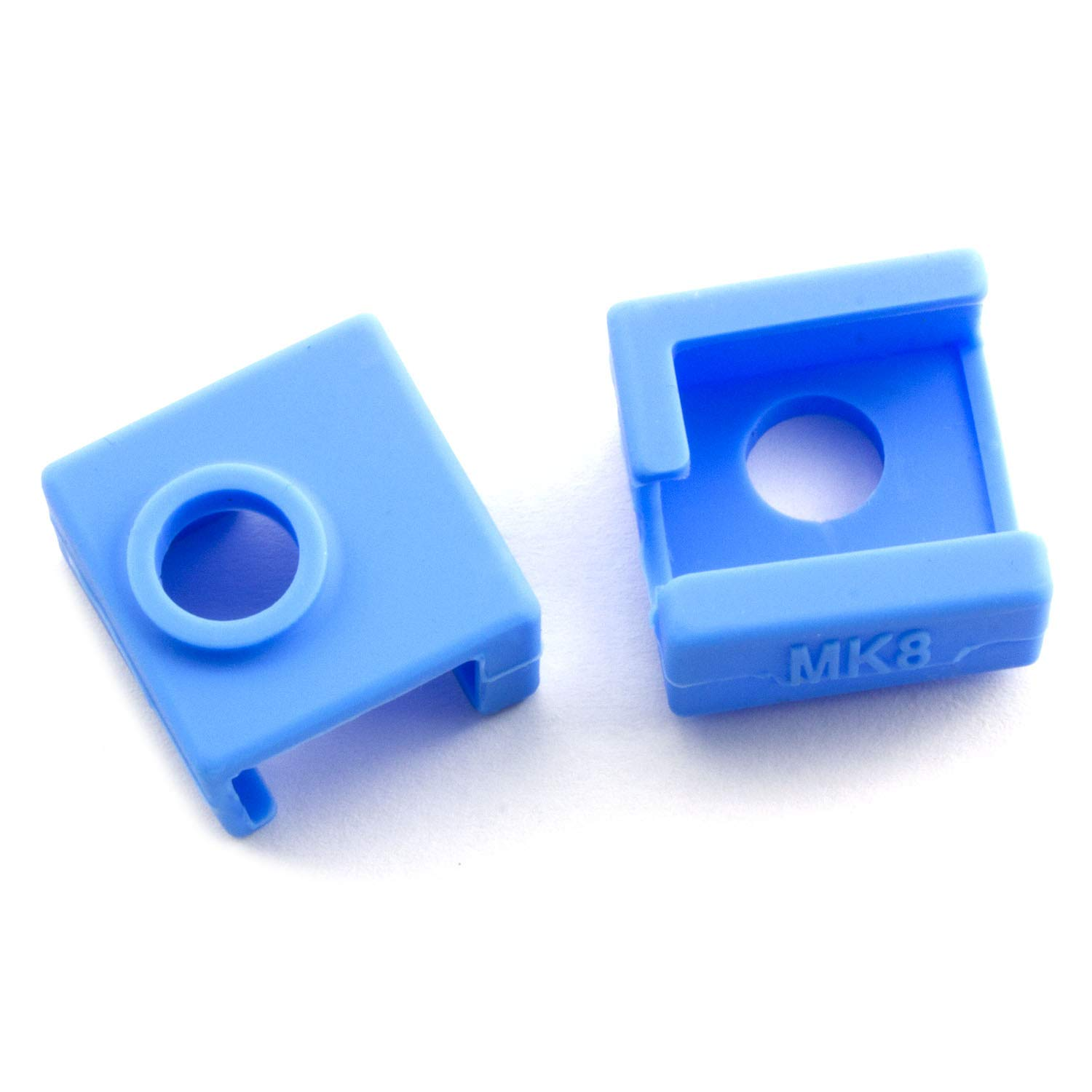 RuiLing 3pcs Blue Silicone Cover for 3D Printer MK7//8//9 Aluminum Heating Block High Temperature Resistance V6 J-Head Hotend Extruder Silicone Insulation Socks