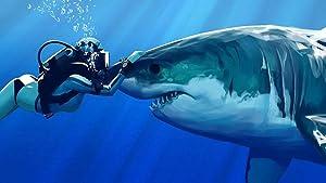 Diamond Painting,Underwater Shark Whale Diver Diamond Painting Round Diamond 75 50cm Full Diamond