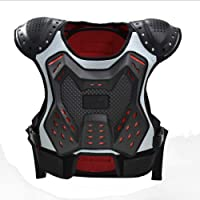Niños Motocicleta Chaqueta Protectora,armadura Profesional Sin Mangas Montar,armadura