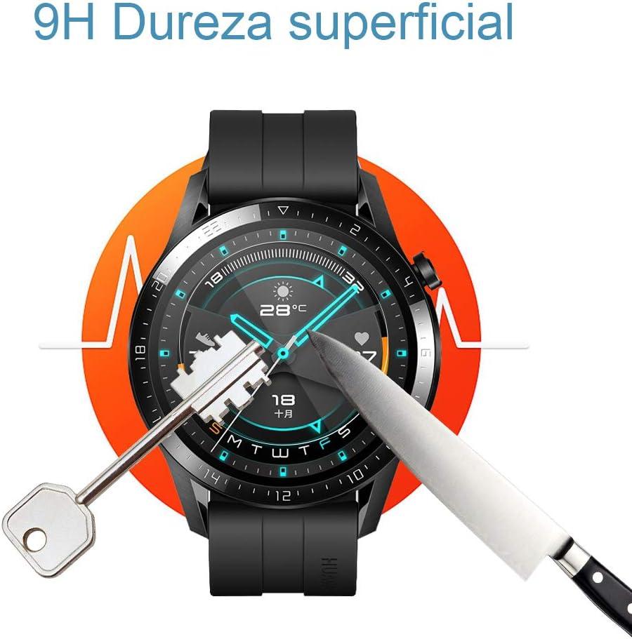UCMDA Protector de Pantalla para Huawei Watch GT 2 46mm: Amazon.es ...