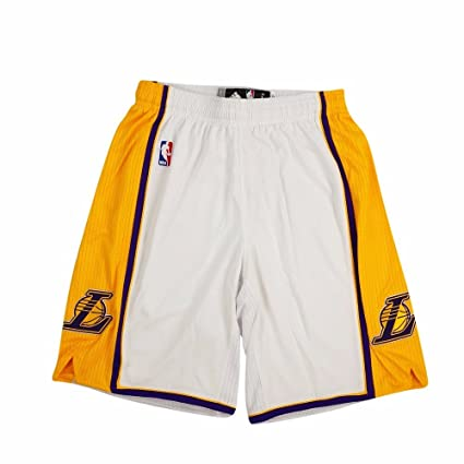 e409e19697 NBA adidas Los Angeles Lakers Authentic Big & Tall Shorts - White (XX-Large