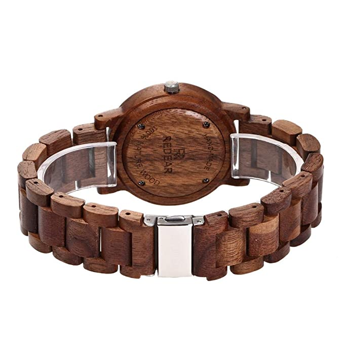 Amazon.com : GFFXIXI Womens Watch | Minimalist Design | Red Sandalwood Watch from Sustainable Management | Mid-Range Price : Sports & Outdoors