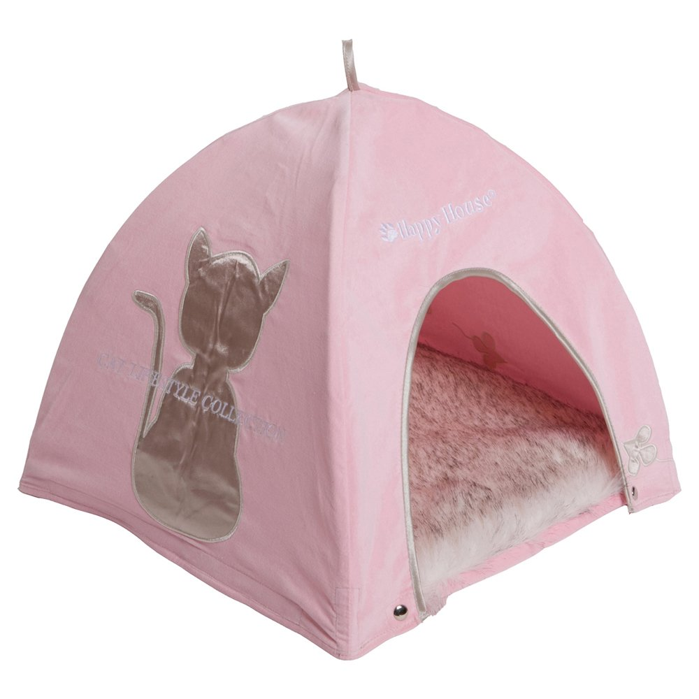 happy-house Katze Lifestyle Zelt, Pink