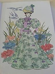 Amazon.com: Dover Creative Haven Art Nouveau Fashions