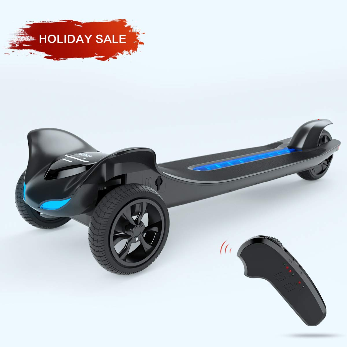 Electric Skateboard For Sale >> Tomoloo Electric Skateboard Three Wheels Electronic Skate Scooter Easy Carry Longboard 250w Hub Motor With App And Wireless Remote Control 15 5mph