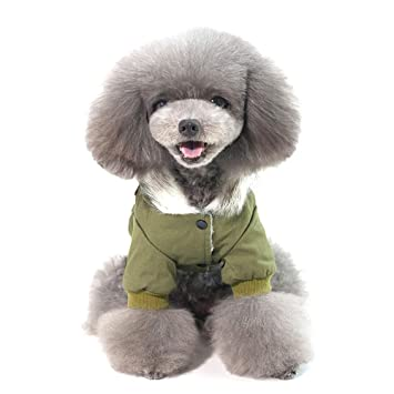 LANVY Traje de Mascota para Perro Abrigo de Invierno Grueso ...