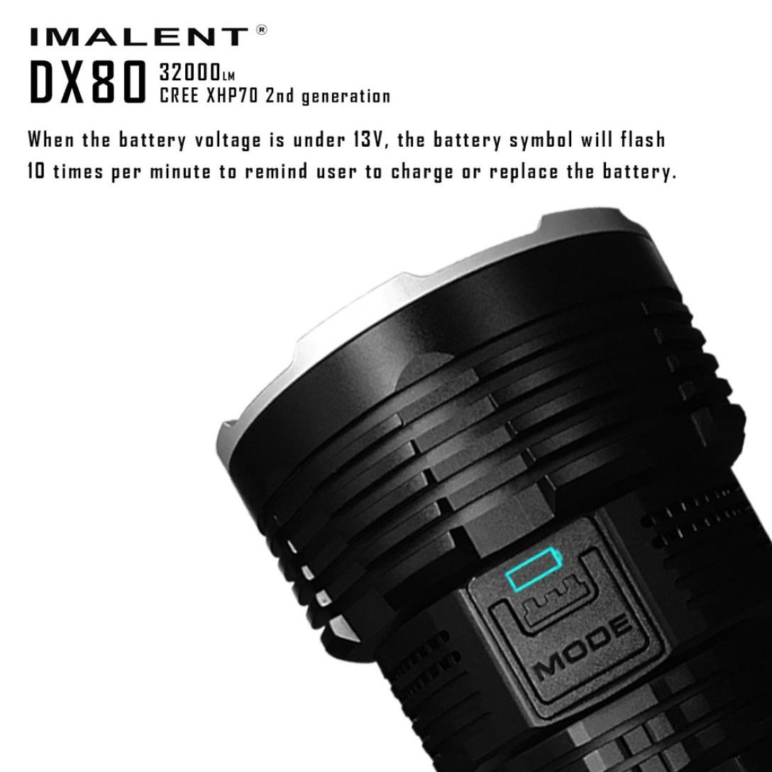 Promisen IMALENT DX80 XHP70 LED Most Powerful Flood LED Seach Flashlight by Promisen (Image #3)
