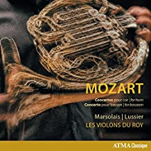 Wolfgang Amadeus Mozart: Concertos for Horn & Concerto for Bassoon