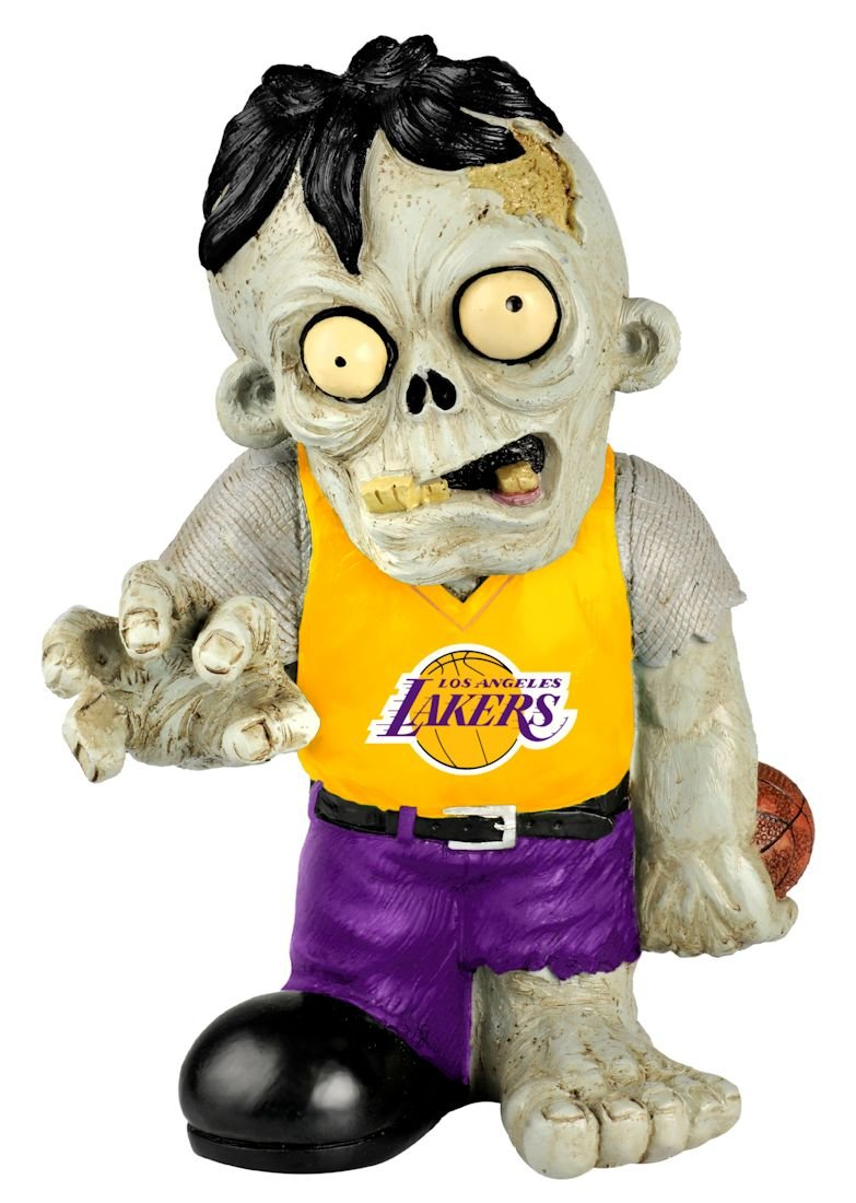 Forever Collectibles NBA Los Angeles Lakers Pro Team Zombie Figurine