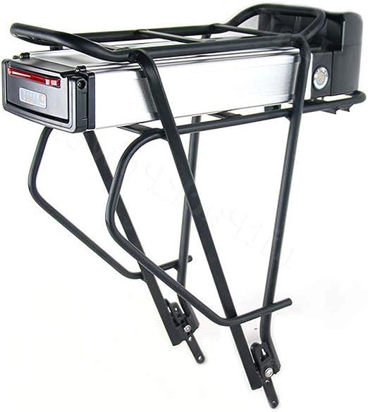 La batería de la bicicleta tiene luces traseras Batería de ...