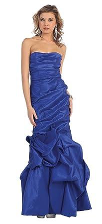 Meerjungfrau kleid royalblau