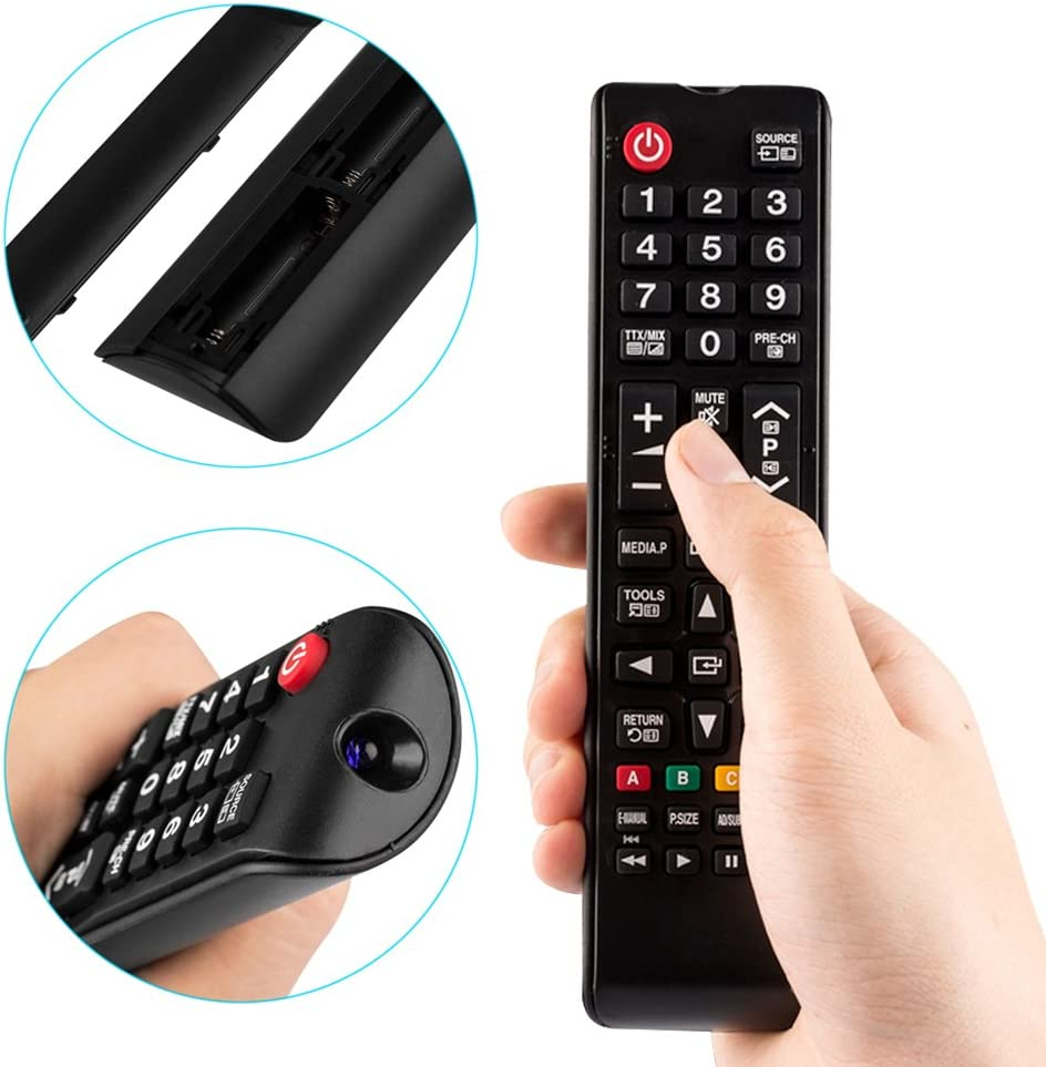 Universal Remote Control for Samsung-TV-Remote All Samsung LCD LED HDTV 3D Smart TVs Models: Home Audio & Theater