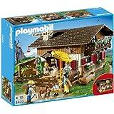 Playmobil 5422 Country - Auberge de montagne avec randonneurs