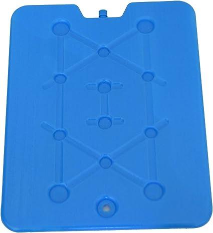 2 Stück XXL Kühlakkus für Kühltasche Kühlelemente für Kühlbox EXTRA Flach