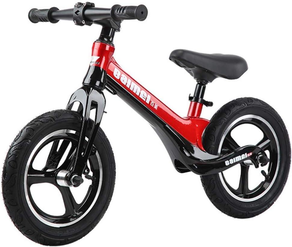 """KY Bicicleta Infantil Balance de Bicicletas, 12"""" Rojo No Bike ..."""