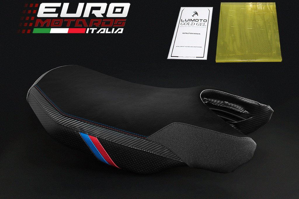 BMW R1200RS 2016 Luimoto Motorsports Tec-Grip Seat Cover For Rider New + Gel Pad