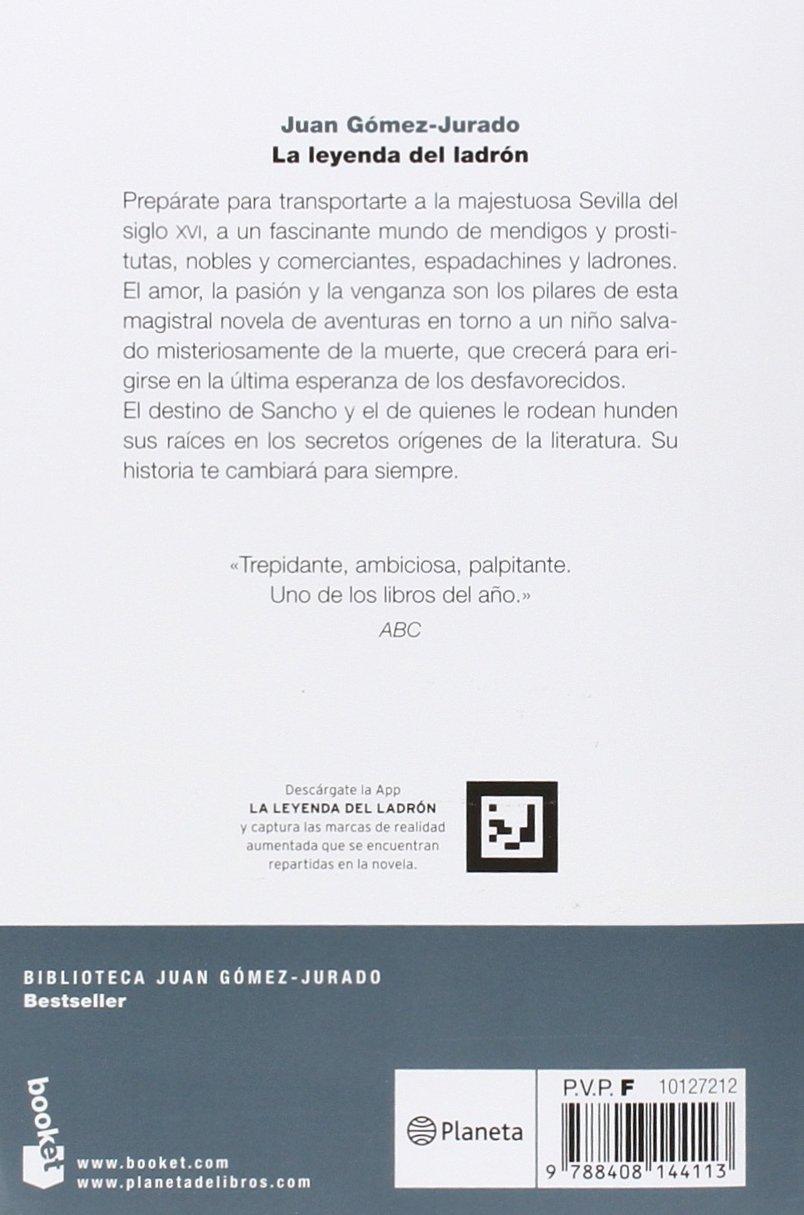 La leyenda del ladrón: Juan Gómez-Jurado: 9788408144113: Amazon.com: Books