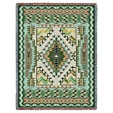 Pure Country Inc. Painted Hills Sage Tapestry Throw