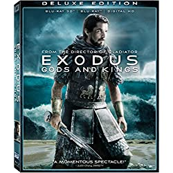 Exodus: Gods and Kings Blu-ray 3d Deluxe Edition