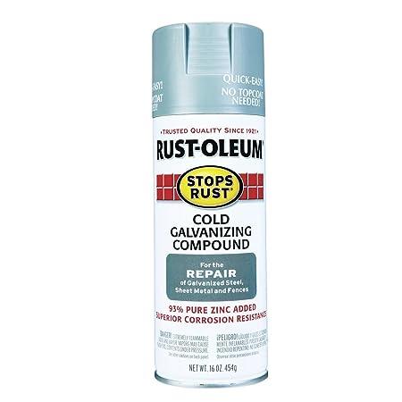 Rust-Oleum Cold Galvanizing Compound Exterior/Interior 16 Oz