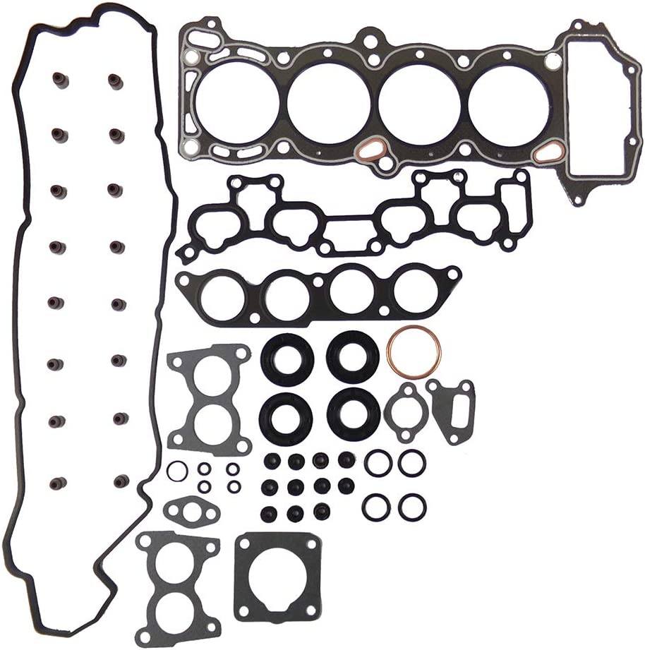 DNJ HGS640 Graphite Head Gasket Set//For 1991-1994// Nissan//NX Sentra// 1.6L// DOHC// L4// 16V// 97cid// GA16DE