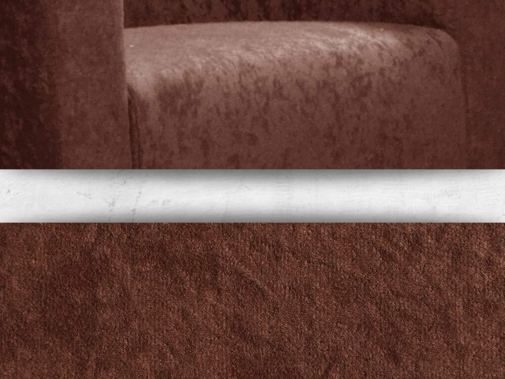 2 cm Poltrona Lounge in Micro-Velluto FORTISLINE Monaco W426