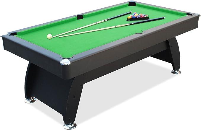 Defaistre-Billar 6 foot Club-Alfombra, color verde: Amazon.es: Deportes y aire libre