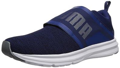 9f4593553a41 PUMA Men s Enzo Strap Knit Sneaker