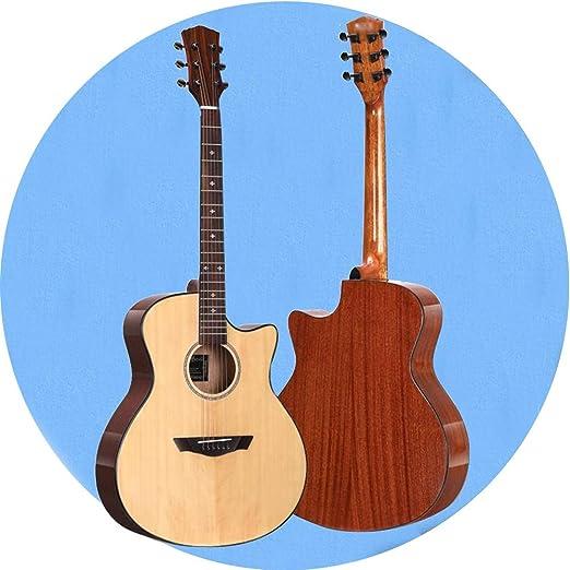 Guitarra Acústica Clasico 41 Pulgadas Madera Corte para ...