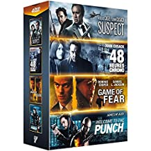 Stars de l'action : Game of Fear + 48 heures chrono + Suspect + Welcome to the Punch