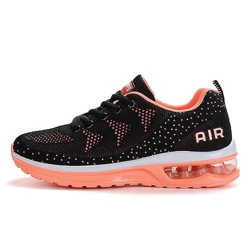 Mujer Deporte Zapatos Hombre Zapatillas Jedvoo Deportivos Aire De Xq5wIv