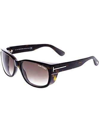 48309c77dc362 Image Unavailable. Image not available for. Color  Tom Ford TF 441 52K  Carson Dark Havana Plastic Rectangle Sunglasses