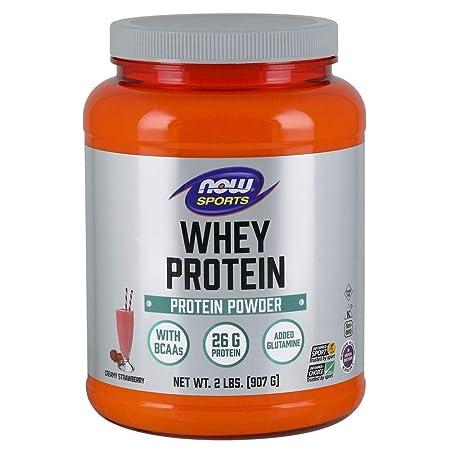 Now Sports Whey Protein, Creamy Strawberry, 2-Pound