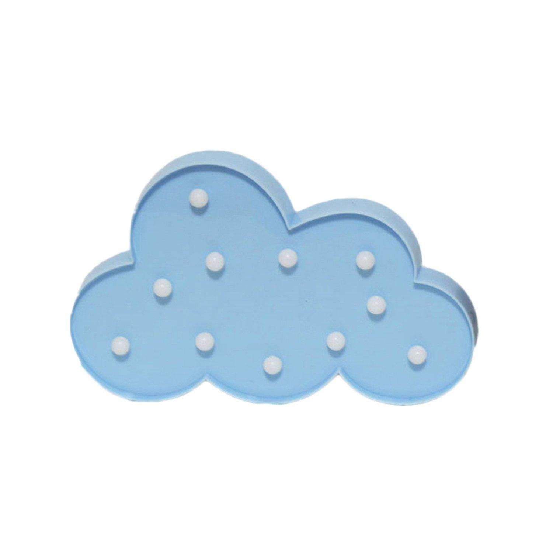 LEDライトフラミンゴレッドNight Lamp RomanticマーキーFlamingo LEDランプテーブルライトホーム壁子供の部屋誕生日パーティーデコレーションギフト 30*22*2.8cm ブルー B07BF6976L ブルー(Cloud Blue) ブルー(Cloud Blue)