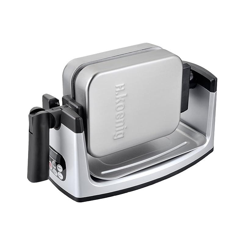 H.Koenig GFX360 Gaufrier Semi-Pro Inox 1000 W: Amazon.fr: Cuisine ...