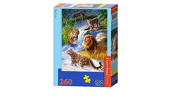 Castorland Big Cats 260 pcs Puzzle - Rompecabezas (Puzzle ...