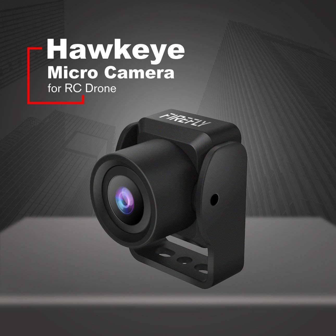 Ballylelly Accessori RC Drone Hawkeye 960H TVL AIO NTSC Pal FPV Microcamera Mini Cam con Obiettivo 2.1mm 200mw 72CH Micro FPV Trasmettitore per RC Racing Drone