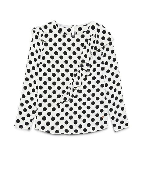 Motivi - Blusa de tejido vaporoso, Mujer, Blanco, 42