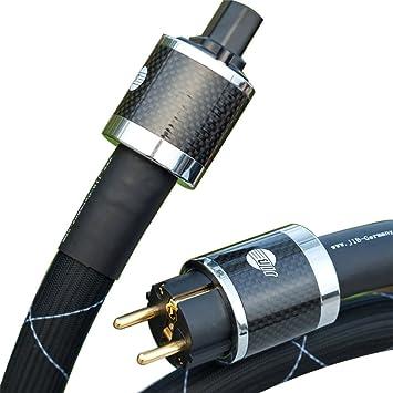 Jib Hydrogen 25 mm Cable de alimentación schuko Conector de la UE tipo 1,5