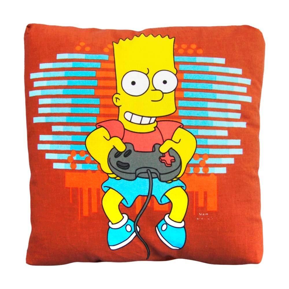 Bart Simpson marrón pequeño cojín