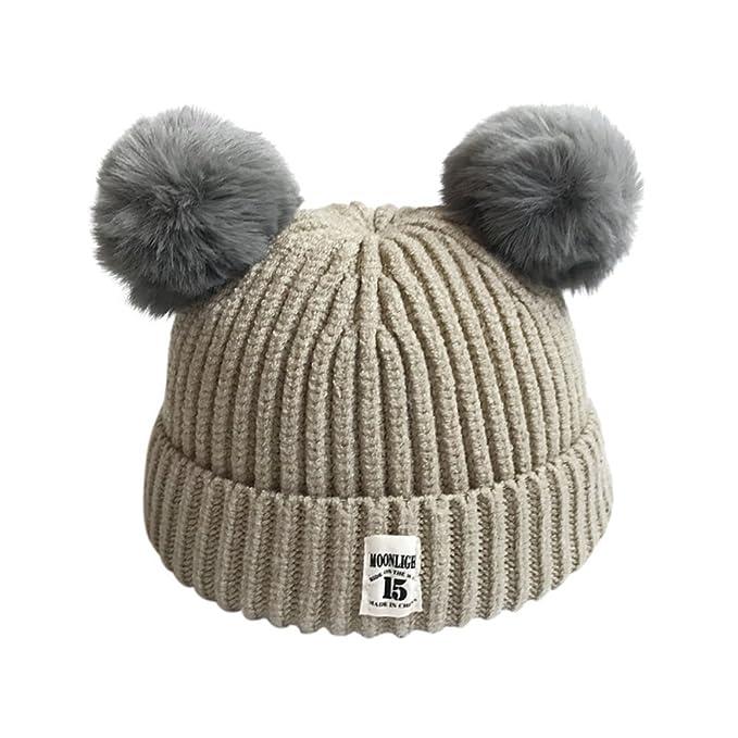 Baby Strickmütze, Baywell Niedlich Unisex Kinder Winter Warme Hut ...
