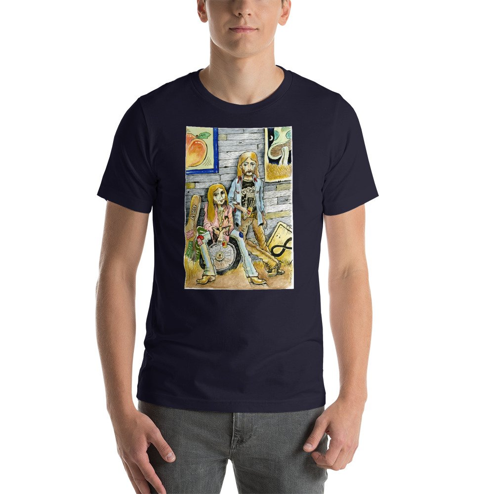 Bad Tiki The Brothers Greg And Duane Allman Wes Freed Gift T Shirt 9220