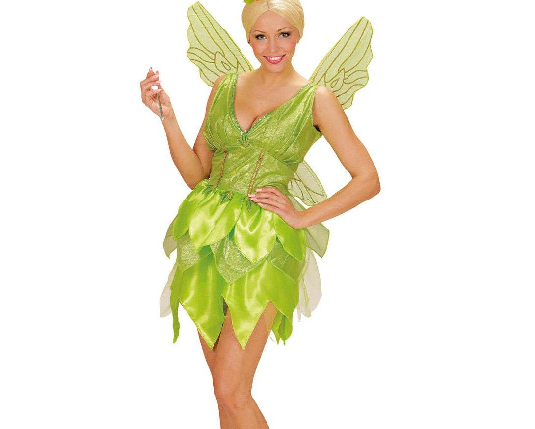WIDMANN 02292 - Disfraz de Adulto de Hadas Fantasy Vestido, alas: Amazon.es: Juguetes y juegos