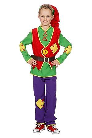 Disfraz de Enanito para niños pequeños, Parte Superior de pantalón ...