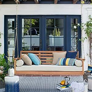 Amazon Com Cari Bay Deep Seating Porch Natural Finish