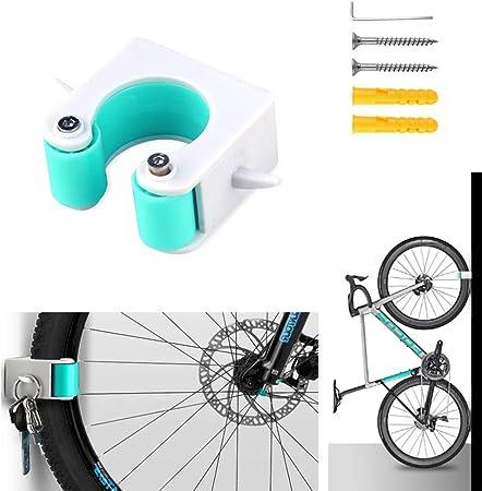 Bicycle Parking Rack Portable Bike Clip Indoor Outdoor Wall-Mounted Road//MTB Bike Rack Storage System